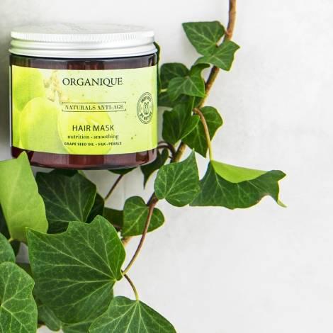 winogronowa maska do włosów Organique